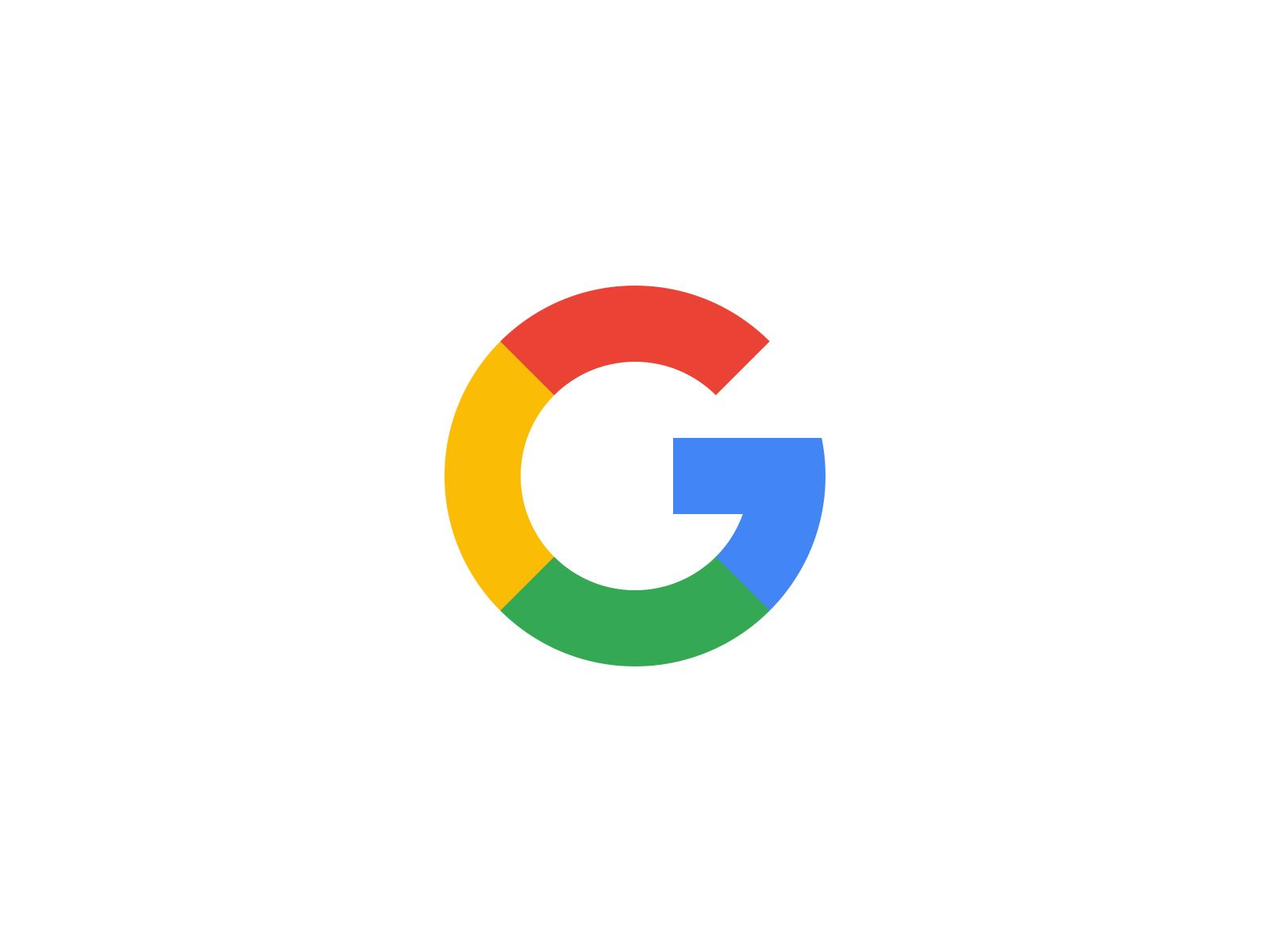 google logo white background