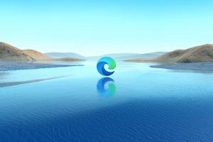 Microsoft edge new logo by microsoft